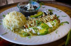 Enchilada plate 1-1