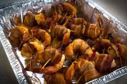 Bacon Wrapped Shrimp-Catering-1