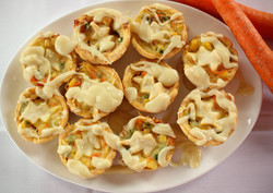 Mini Chicken Pot Pies-1