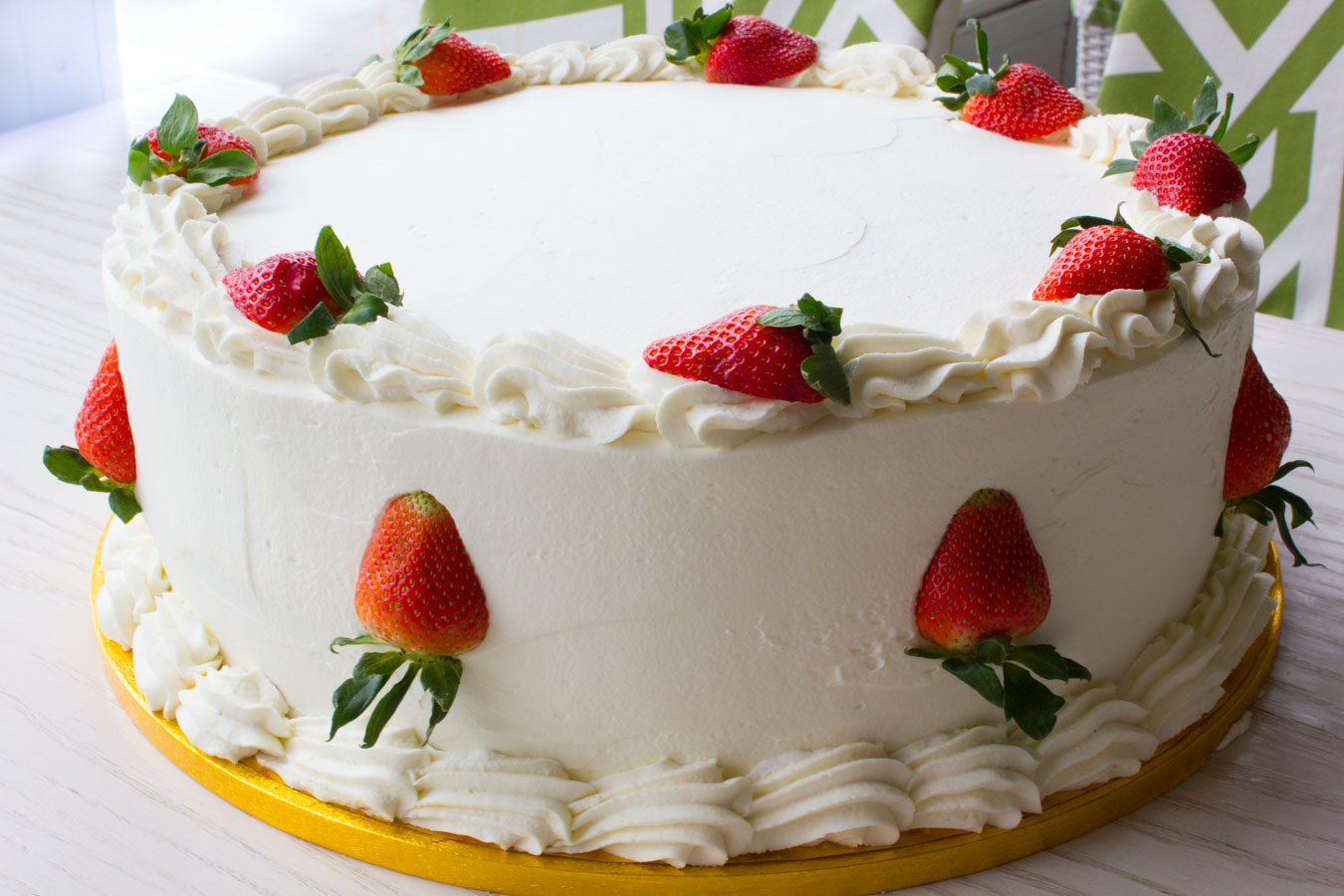 Strawberry Wedding Cake 16inch 2-1