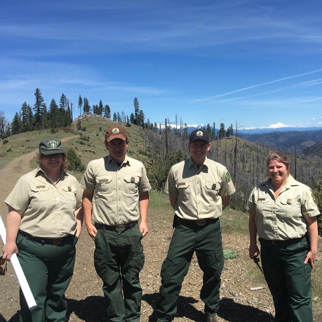 Shasta-Trinity Forest Rangers