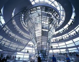 Reichstag, New German Parliament - Berlin