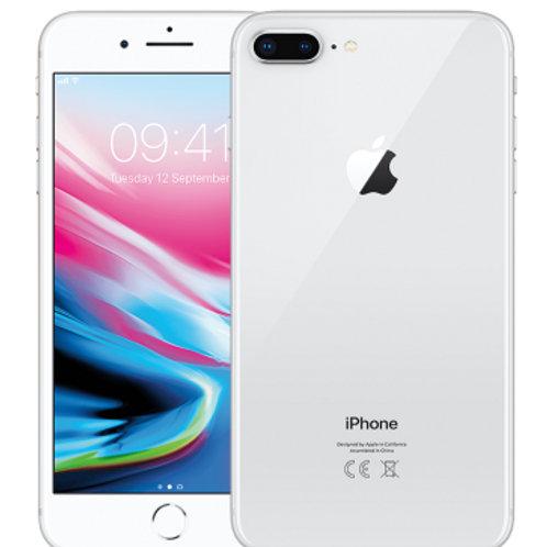 iPhone 8 Plus 64GB Silver Neverlock