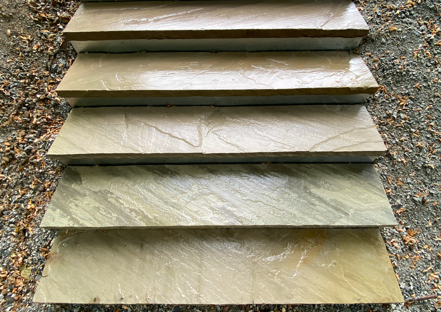 Penny Green Stone Stair Treads
