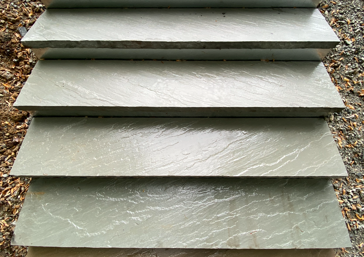 Silvered Stone Treads