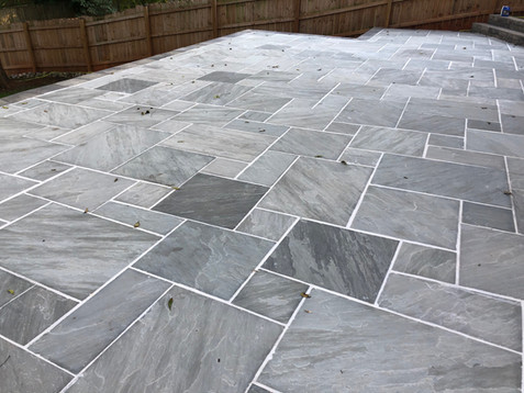 Silvered Bluestone