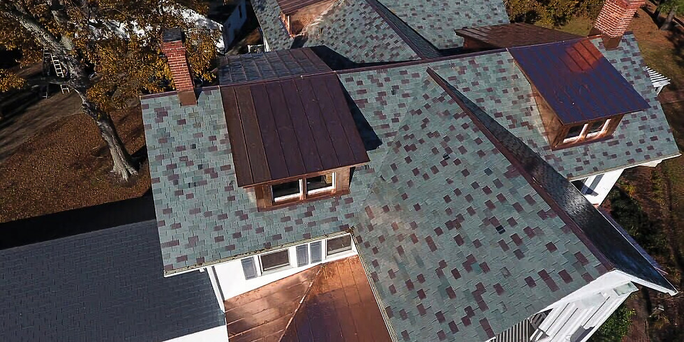 Slate Roofing Flashing details