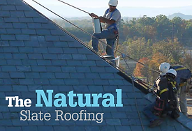 The Natural Slate Roofing. Information about natural slate roofing for roofing contractors.