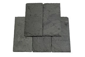 Vermont Unfadig Gray Slate. Vermont unfading gray carries a slight hue of green to the gray. The light colored stone is slightly textured and will add years of lonevity to any structure.