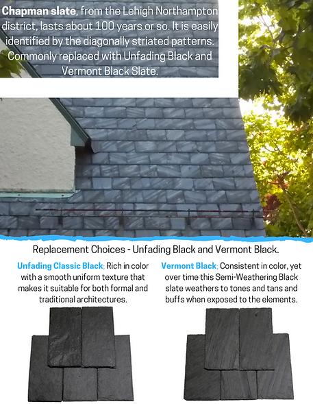 Chapman Slate recommendation at Virginia Slate Company