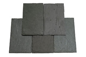 "Semi - Weathering Gray / Green Slate. Semi-weathering gray / green will weather 10% to 20% to buff and tans. This should beexpected if purchasing this slate color. This product is often referred to as ""semi-weathering gray"" or ""Semi-Weathering green."