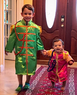 Halloween 2018 Max and Xander at home.jp