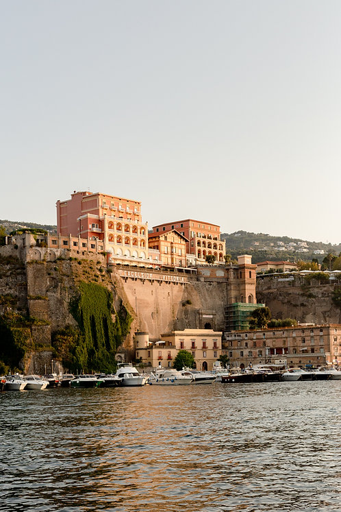 Golden Hour in Sorrento