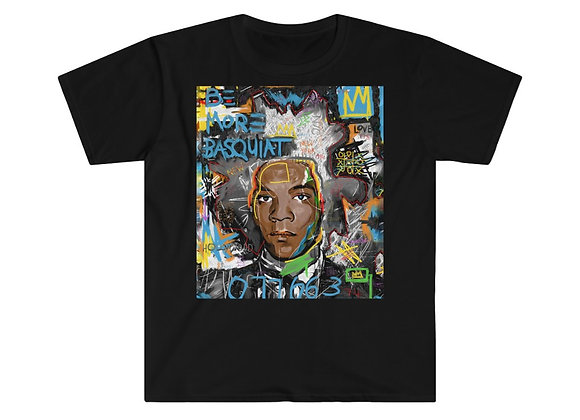 Be More Basquiat Short Sleeve Tee