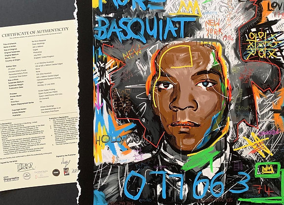 Be More Basquiat (Limited Edition Print)