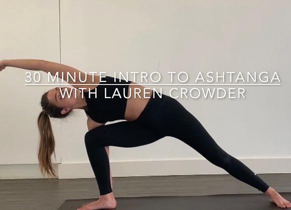 30 Minute Intro to Beginners Ashtanga