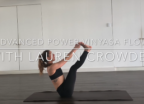 Advanced Yoga Class - Arm Balances & Inversions
