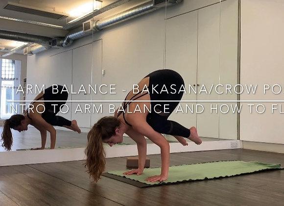 Bakasana/Crow Pose : How to & Vinyasa Flow