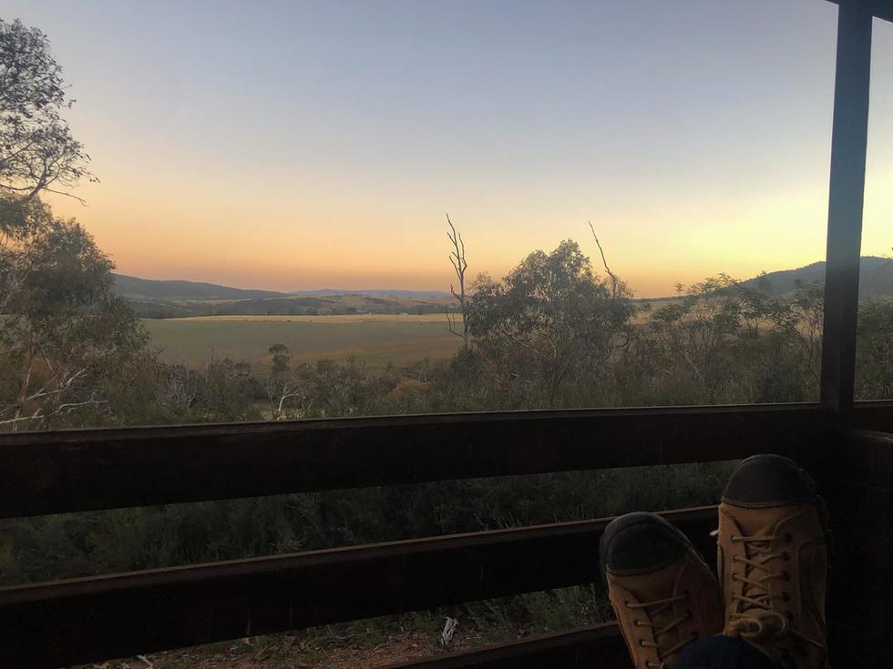 Views on dusk