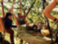 l'arbre à trucs grimp lac de panneciere morvan
