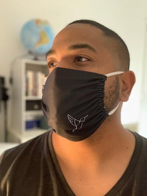 Lot de 2 masques en microfibre
