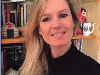 Ana Caravaca, docente de GAREMA y escritora.