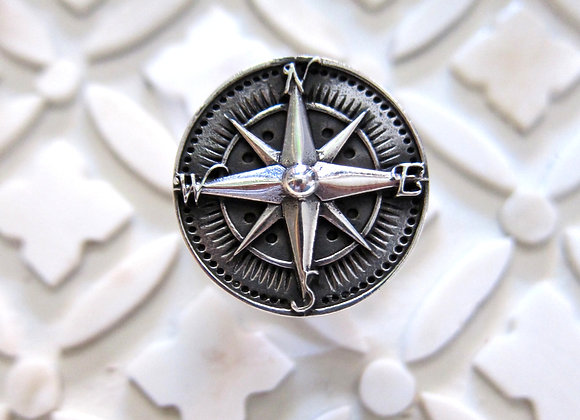 Wanderer Silver Navigator Ring