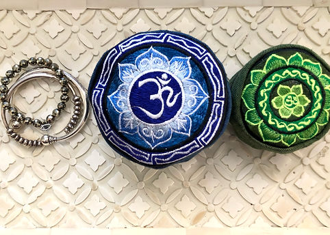 Wanderer Lotus and Om Bags