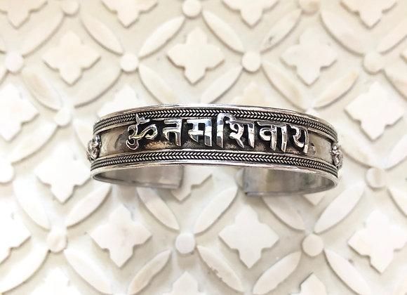 Wanderer Om Namah Shivaya Cuff