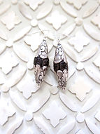 Silver Wrapped Earrings