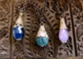 Silver Wrapped Gemstones.JPG