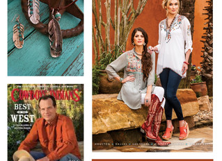 Cowboys & Indians Feature with Pinto Ranch - June 2015 Issue