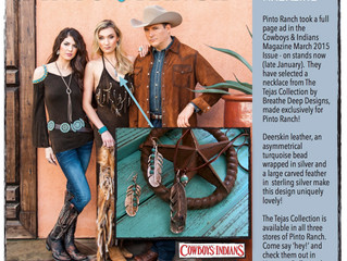 Cowboys & Indians Feature by Pinto Ranch - March 2015