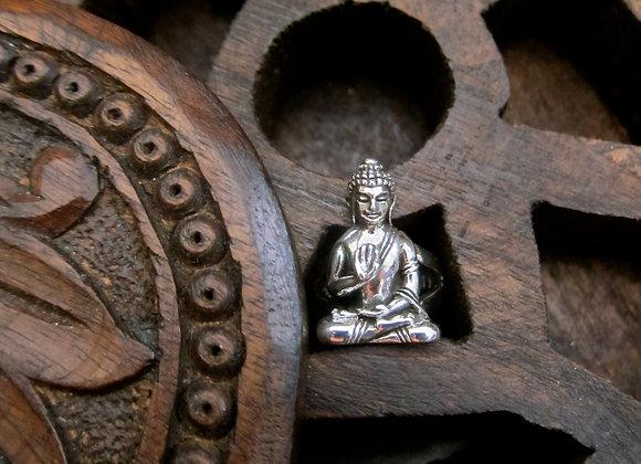 Wanderer Seated Buddha Cuff Ring