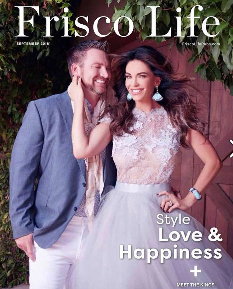 Frisco Life Magazine feature of BDD Jewelry