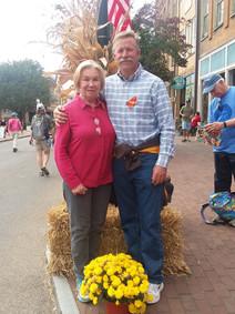 Jayme and mom at the National Storytelling Festival in Jonesboro, TN.