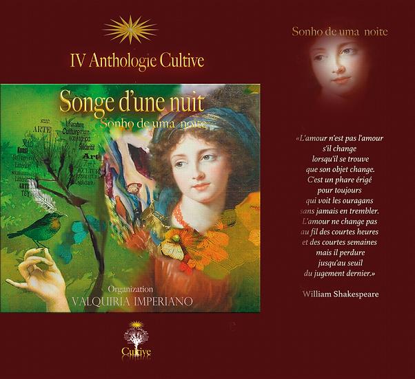 """Antologia Cultive """"Songe d'une nuit / Sonho de uma noite"""" (FR /PT)"""