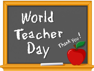 Today is World Teacher Day!