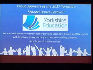 The 2017 Yorkshire Schools Dance Festival was a huge success