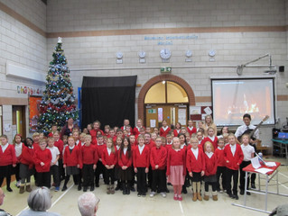 Boothferry primary Christmas carol concert