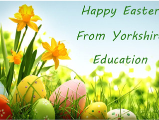 The Easter holidays have arrived!