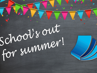 The Summer Holidays Have Arrived!