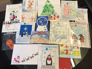 Christmas card competition winner and finalists!