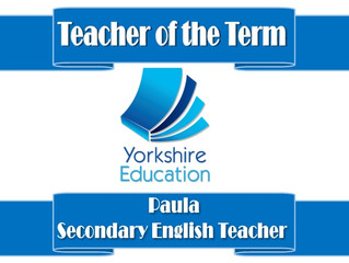 Teacher of the term!