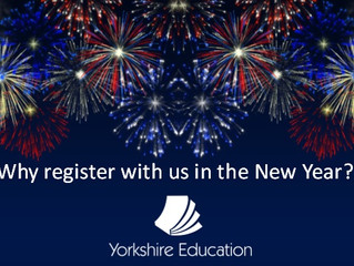 Why register with us in the New Year?