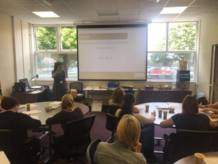 Our first CPD session of the academic year with Pathfinder TSA was a huge success!