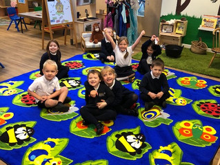 We have sponsored South Milford Primary School a back to nature floor mat!