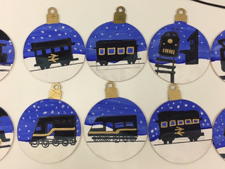 Christmas bauble competition winner and finalists!