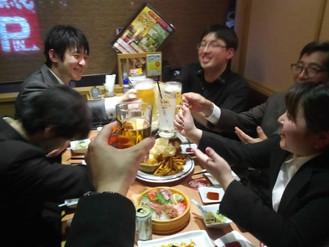 いきなりステーキ渋川店 決起会