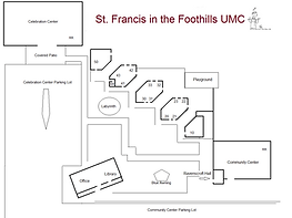 Map of the Campus at St. Francis in the